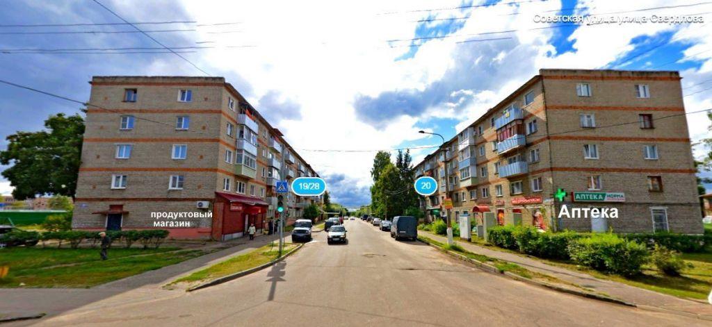 Продажа двухкомнатной квартиры Рошаль, улица Свердлова 19/28, цена 1290000 рублей, 2020 год объявление №507342 на megabaz.ru