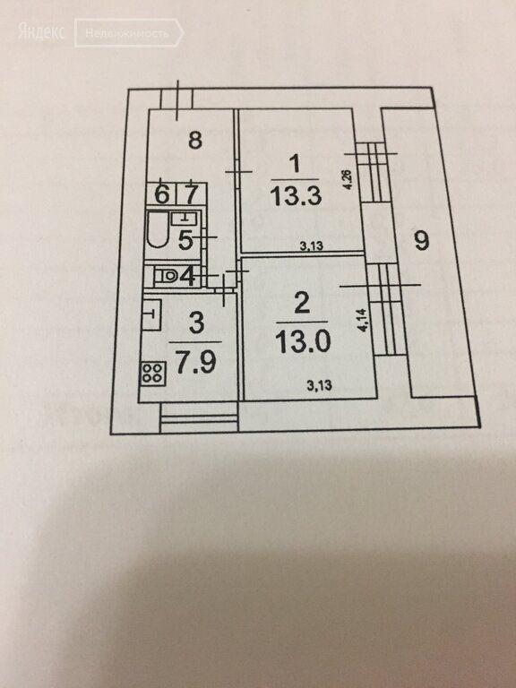 Продажа двухкомнатной квартиры Протвино, Фестивальный проезд 3, цена 3200000 рублей, 2020 год объявление №447861 на megabaz.ru
