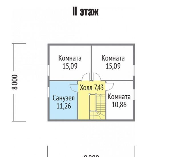 Продажа дома рабочий посёлок имени Воровского, цена 2890000 рублей, 2021 год объявление №422799 на megabaz.ru