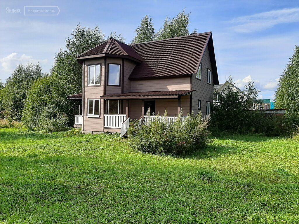 Продажа дома деревня Семенково, цена 1900000 рублей, 2020 год объявление №487638 на megabaz.ru