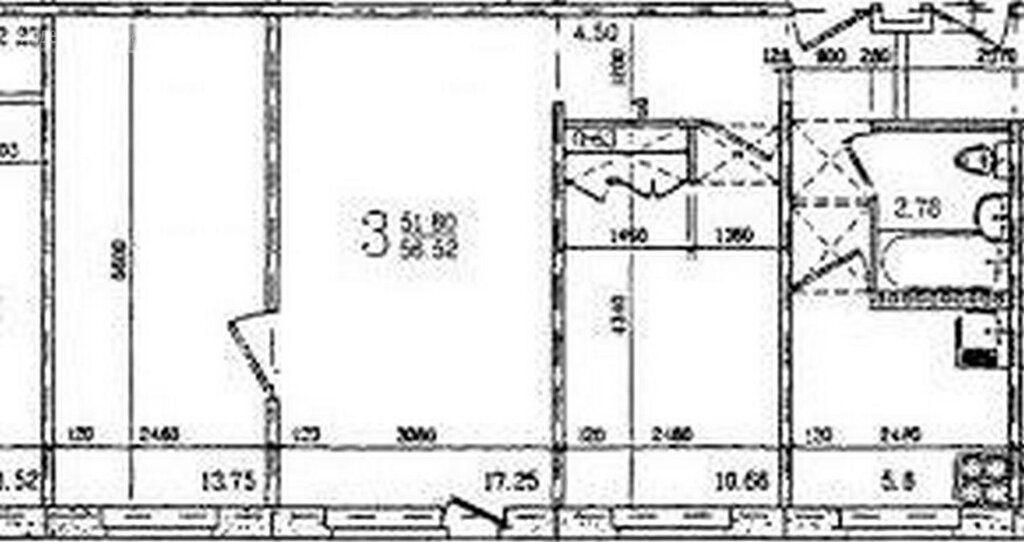 Продажа трёхкомнатной квартиры Серпухов, Осенняя улица 35, цена 3500000 рублей, 2020 год объявление №508461 на megabaz.ru
