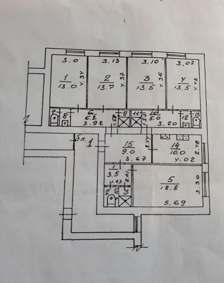 Продажа пятикомнатной квартиры Красноармейск, улица Свердлова 20, цена 4850000 рублей, 2021 год объявление №510688 на megabaz.ru