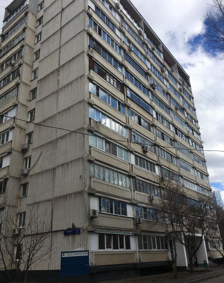Продажа однокомнатной квартиры Москва, метро Фили, Заречная улица 1к2, цена 9600000 рублей, 2021 год объявление №553429 на megabaz.ru