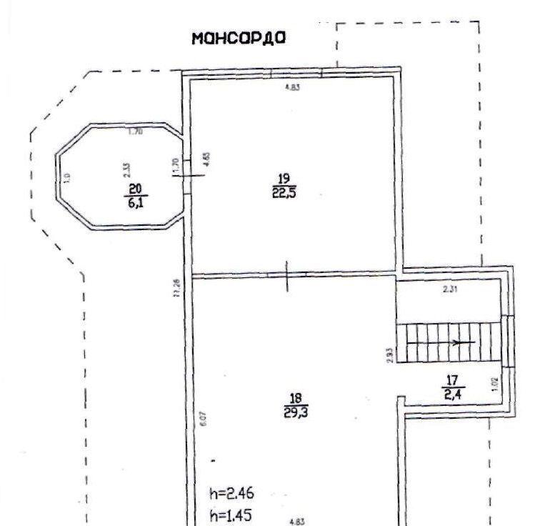 Продажа дома село Рождествено, Дачная улица 50, цена 14850080 рублей, 2021 год объявление №407516 на megabaz.ru
