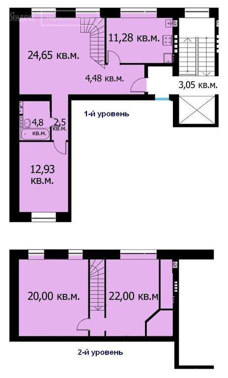 Продажа четырёхкомнатной квартиры село Озерецкое, бульвар Мечта 3, цена 8900000 рублей, 2021 год объявление №536164 на megabaz.ru