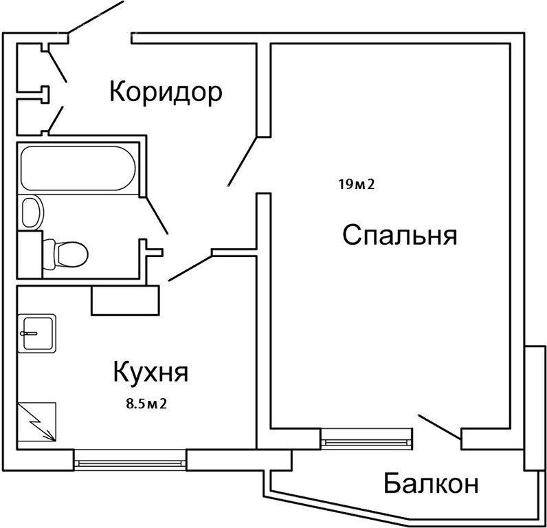 Продажа однокомнатной квартиры Москва, метро Строгино, Таллинская улица 24, цена 8490000 рублей, 2020 год объявление №511185 на megabaz.ru