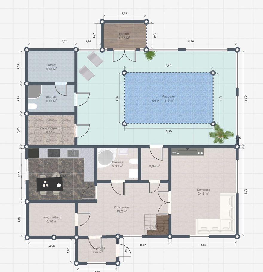 Продажа дома Красноармейск, Первомайская улица 2, цена 15000000 рублей, 2021 год объявление №508452 на megabaz.ru