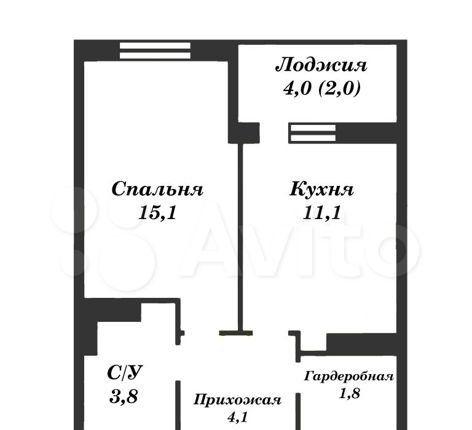 Продажа однокомнатной квартиры село Воскресенское, цена 5800000 рублей, 2021 год объявление №531384 на megabaz.ru