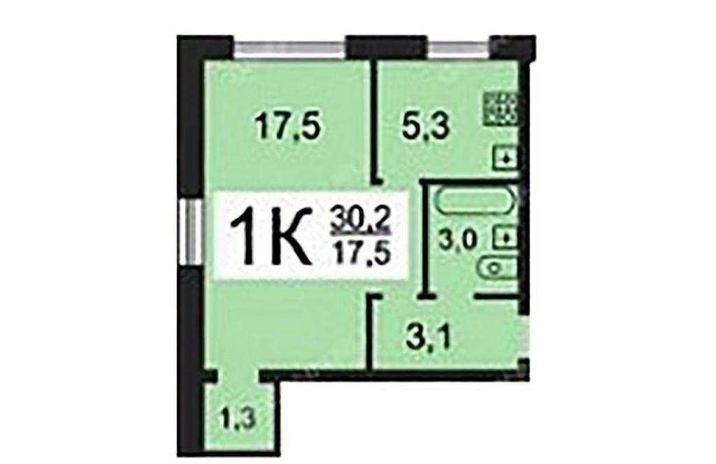 Продажа однокомнатной квартиры Москва, метро Свиблово, Анадырский проезд 1, цена 7000000 рублей, 2021 год объявление №513188 на megabaz.ru