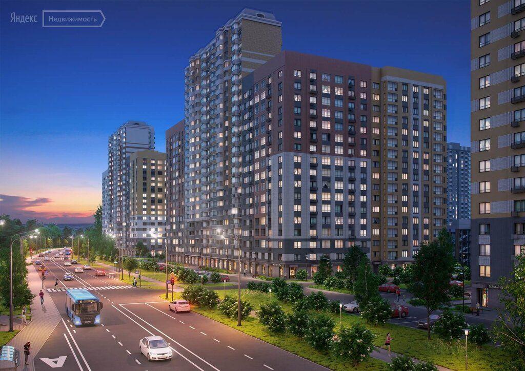 Продажа двухкомнатной квартиры поселок Битца, Южный бульвар 5, цена 10200000 рублей, 2021 год объявление №630774 на megabaz.ru