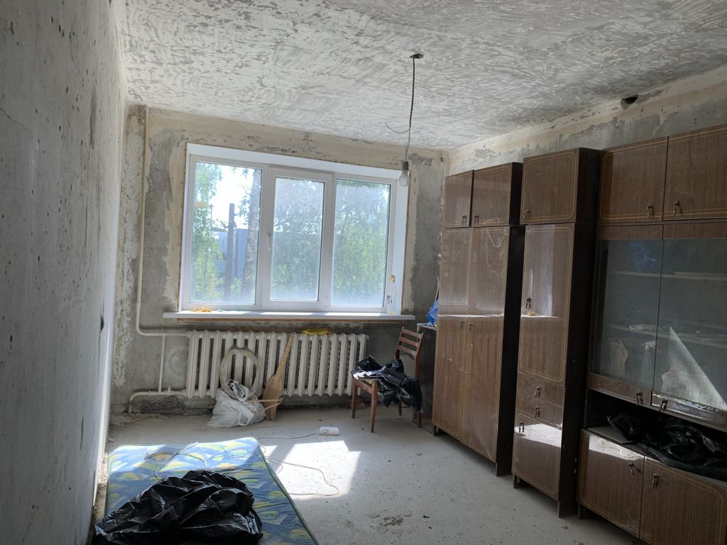 Продажа трёхкомнатной квартиры село Конобеево, улица Учхоз 9, цена 2750000 рублей, 2021 год объявление №470378 на megabaz.ru
