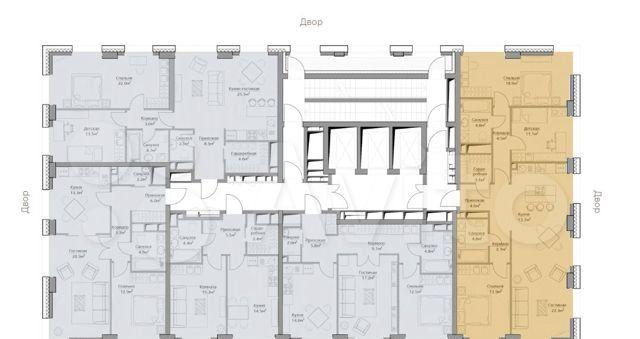 Продажа четырёхкомнатной квартиры Москва, метро Фили, цена 33080440 рублей, 2021 год объявление №560227 на megabaz.ru