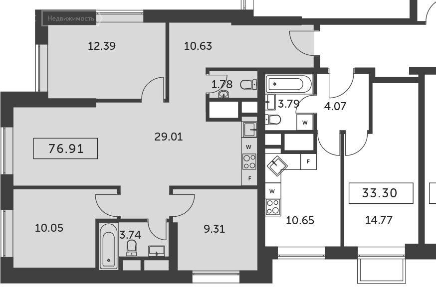 Аренда четырёхкомнатной квартиры деревня Раздоры, метро Строгино, цена 77000 рублей, 2021 год объявление №1241725 на megabaz.ru