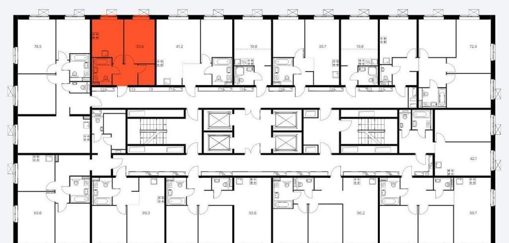 Продажа однокомнатной квартиры Москва, метро Братиславская, цена 7700000 рублей, 2021 год объявление №556515 на megabaz.ru