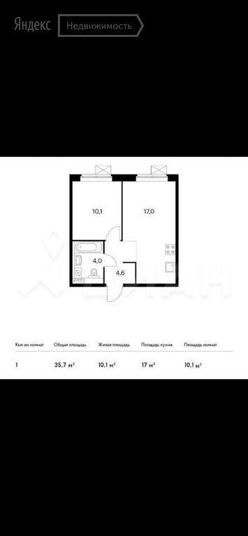 Продажа однокомнатной квартиры Москва, метро Братиславская, Люблинская улица 78к3, цена 8190000 рублей, 2021 год объявление №578874 на megabaz.ru