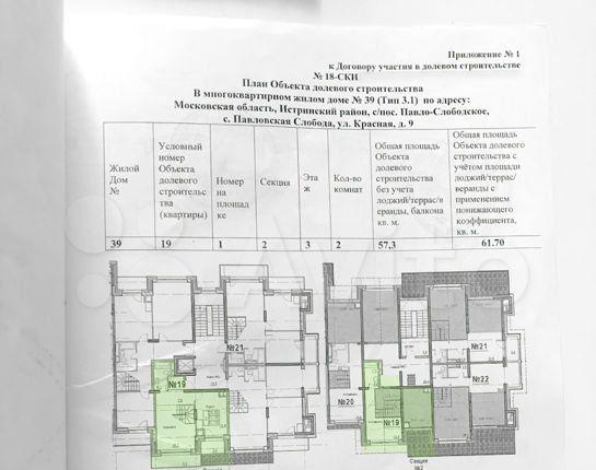 Продажа двухкомнатной квартиры село Павловская Слобода, Изумрудная улица 5к5, цена 7950000 рублей, 2021 год объявление №502026 на megabaz.ru