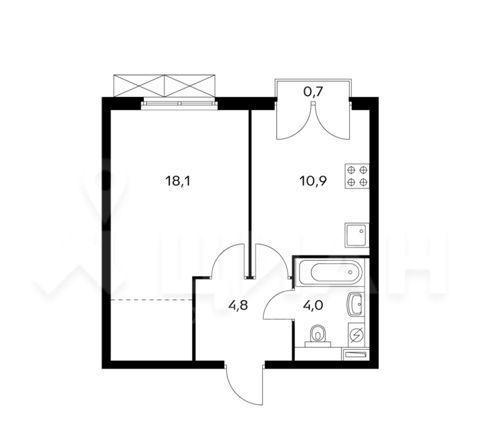 Продажа однокомнатной квартиры Москва, метро Фили, цена 12400000 рублей, 2021 год объявление №478407 на megabaz.ru