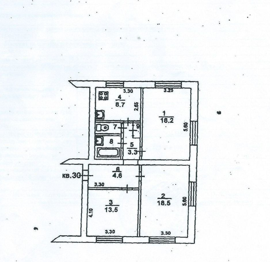 Продажа трёхкомнатной квартиры Лыткарино, Коммунистическая улица 60, цена 5650000 рублей, 2021 год объявление №536878 на megabaz.ru