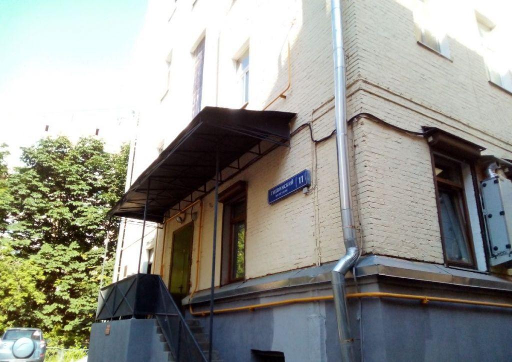 Продажа студии Москва, метро Менделеевская, Тихвинский переулок 11с2, цена 7350000 рублей, 2020 год объявление №520677 на megabaz.ru