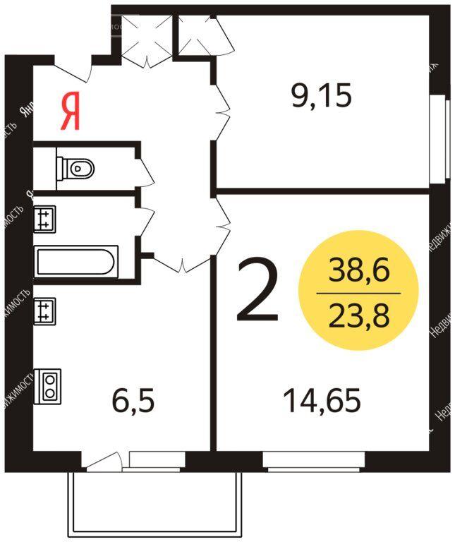 Аренда двухкомнатной квартиры Москва, метро Нагорная, Нагорная улица 27к4, цена 50000 рублей, 2021 год объявление №1312858 на megabaz.ru