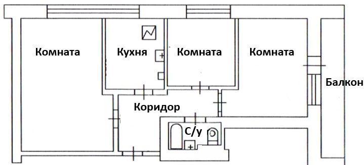 Продажа трёхкомнатной квартиры Москва, метро Сухаревская, Докучаев переулок 2, цена 16900000 рублей, 2021 год объявление №439645 на megabaz.ru
