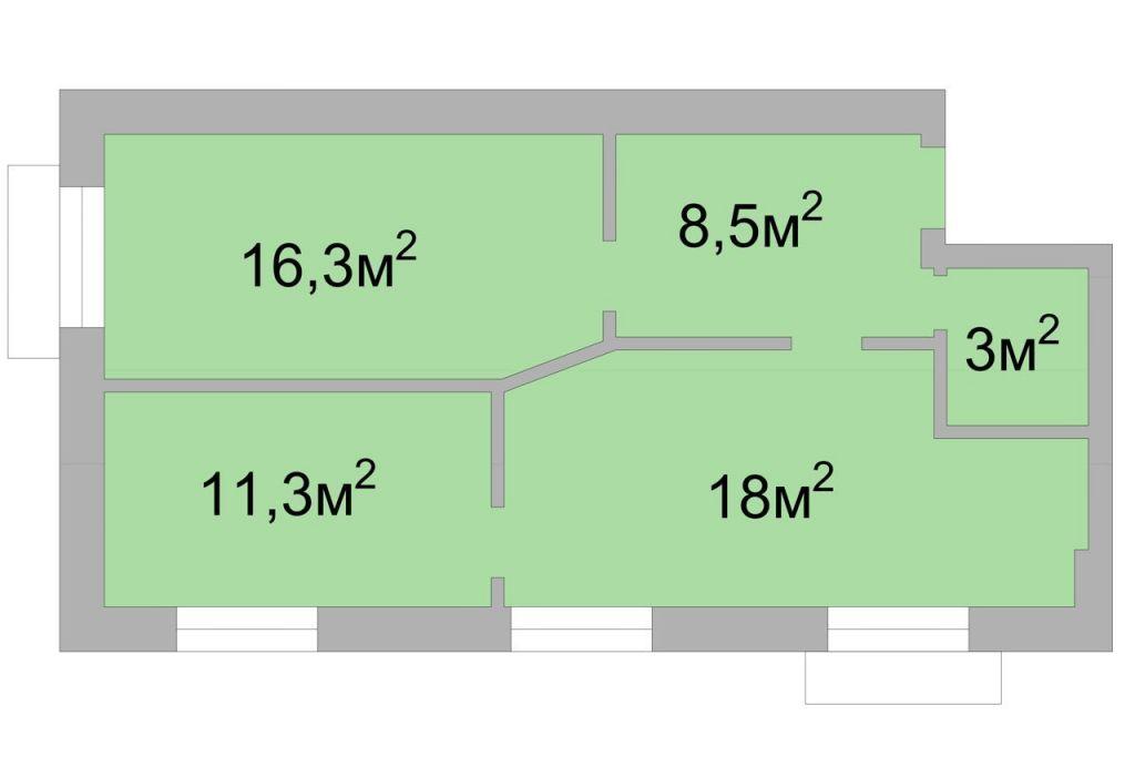 Продажа трёхкомнатной квартиры Москва, метро Краснопресненская, Дружинниковская улица 11/2, цена 25000000 рублей, 2021 год объявление №523849 на megabaz.ru