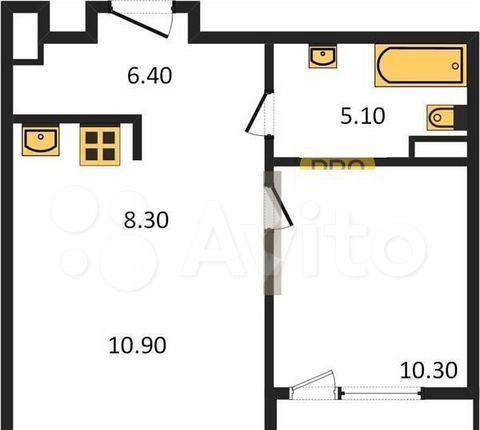 Продажа однокомнатной квартиры Москва, метро Калужская, цена 13000000 рублей, 2021 год объявление №575003 на megabaz.ru