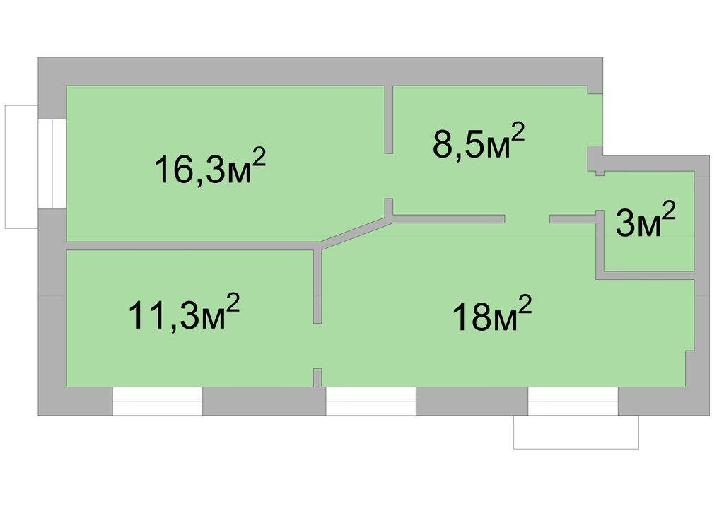 Продажа трёхкомнатной квартиры Москва, метро Краснопресненская, Дружинниковская улица 11/2, цена 25000000 рублей, 2021 год объявление №523833 на megabaz.ru