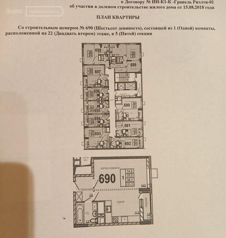 Продажа однокомнатной квартиры рабочий поселок Новоивановское, цена 5600000 рублей, 2021 год объявление №523792 на megabaz.ru