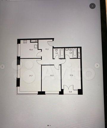 Продажа трёхкомнатной квартиры Москва, метро Фили, цена 30000000 рублей, 2021 год объявление №539177 на megabaz.ru