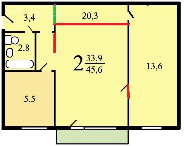 Продажа двухкомнатной квартиры Москва, метро Кузьминки, улица Шумилова 12, цена 8000000 рублей, 2021 год объявление №525623 на megabaz.ru