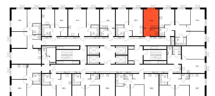 Продажа студии Москва, метро Братиславская, цена 5150000 рублей, 2021 год объявление №542649 на megabaz.ru