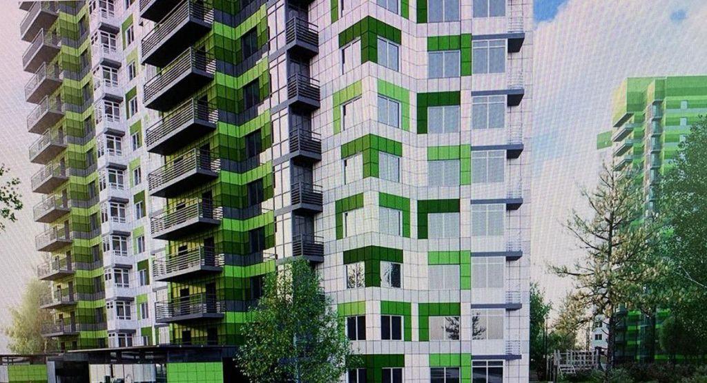Продажа однокомнатной квартиры поселок Развилка, Проектируемый проезд № 5538, цена 3800000 рублей, 2021 год объявление №482706 на megabaz.ru