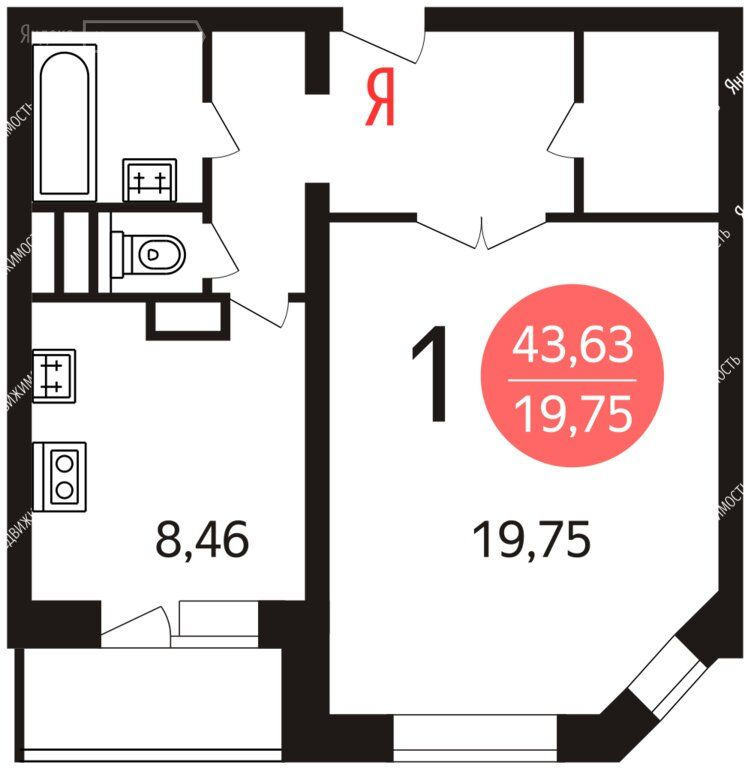 Продажа однокомнатной квартиры Балашиха, метро Щелковская, улица 40 лет Победы 33, цена 1850000 рублей, 2021 год объявление №581820 на megabaz.ru