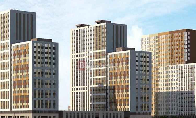 Продажа однокомнатной квартиры рабочий поселок Новоивановское, цена 5950000 рублей, 2021 год объявление №528535 на megabaz.ru