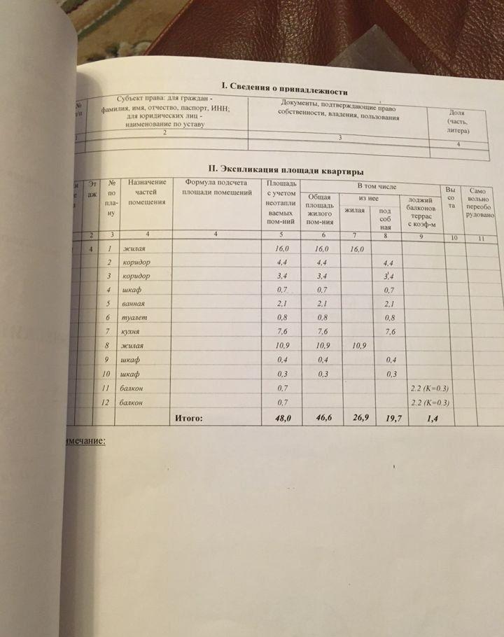 Продажа двухкомнатной квартиры поселок Строитель, цена 2700000 рублей, 2021 год объявление №543591 на megabaz.ru