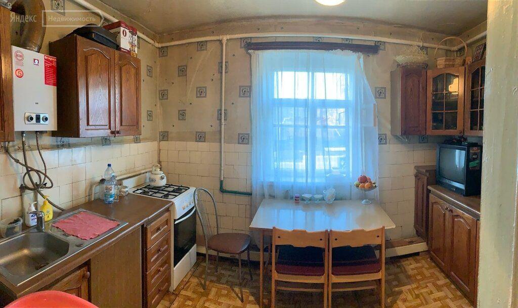 Продажа двухкомнатной квартиры село Жаворонки, улица Победы 55, цена 3500000 рублей, 2021 год объявление №530518 на megabaz.ru