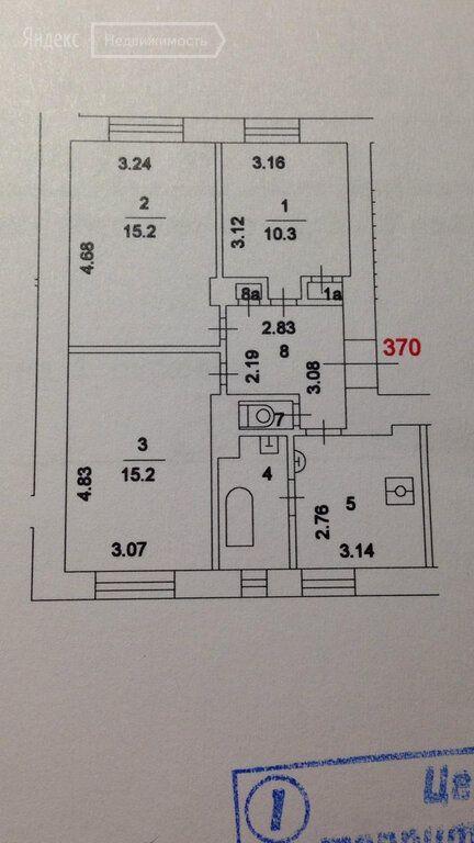 Продажа трёхкомнатной квартиры Москва, метро Спортивная, Усачёва улица 29к7, цена 34000000 рублей, 2021 год объявление №530776 на megabaz.ru