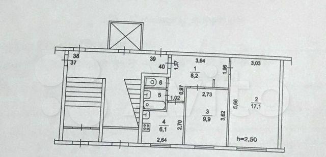 Продажа двухкомнатной квартиры поселок Старый Городок, Почтовая улица 2, цена 3300000 рублей, 2021 год объявление №532477 на megabaz.ru