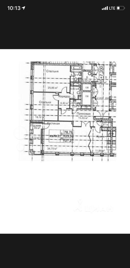 Продажа трёхкомнатной квартиры Москва, метро Фрунзенская, цена 86700000 рублей, 2021 год объявление №620136 на megabaz.ru