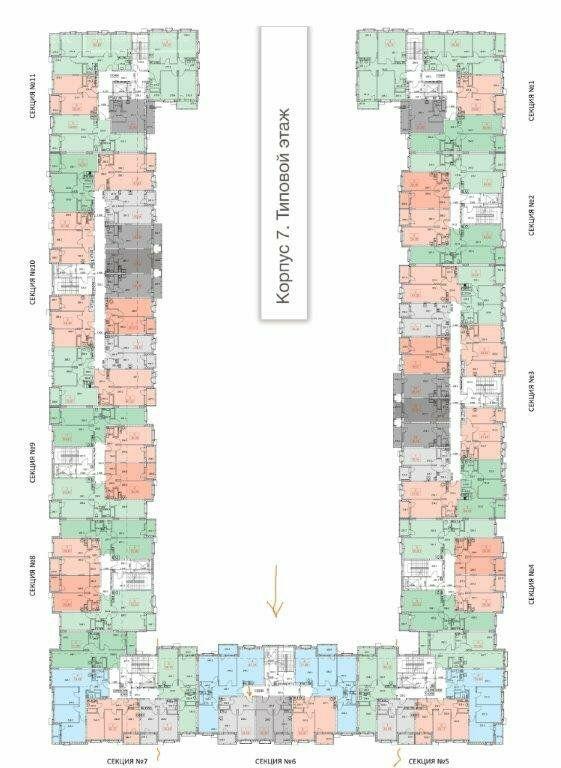 Продажа однокомнатной квартиры село Перхушково, цена 3550000 рублей, 2021 год объявление №600474 на megabaz.ru
