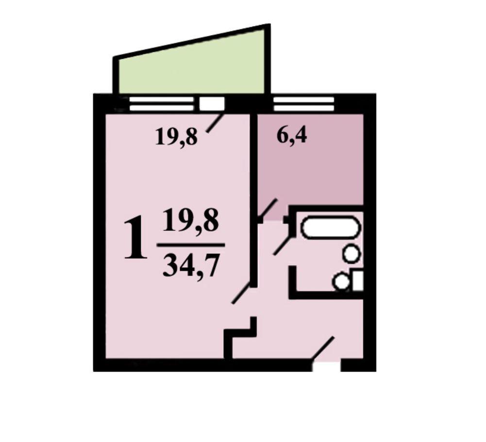 Продажа однокомнатной квартиры Москва, метро Текстильщики, 8-я улица Текстильщиков 2к2, цена 7950000 рублей, 2021 год объявление №535353 на megabaz.ru