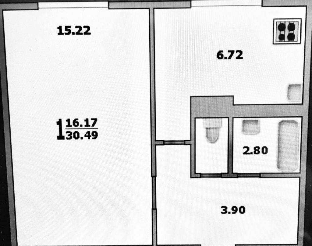 Продажа однокомнатной квартиры Москва, метро Печатники, Шоссейная улица 47, цена 6850000 рублей, 2020 год объявление №450817 на megabaz.ru