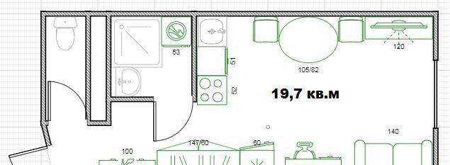 Продажа студии Москва, метро Люблино, Цимлянская улица 3к1, цена 3750000 рублей, 2020 год объявление №447683 на megabaz.ru