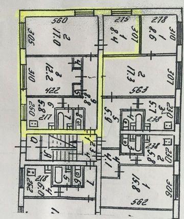 Продажа трёхкомнатной квартиры поселок Лунёво, Гаражная улица 10, цена 4000000 рублей, 2021 год объявление №520821 на megabaz.ru