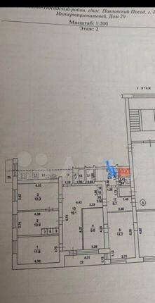 Продажа комнаты Павловский Посад, Интернациональный переулок 29, цена 650000 рублей, 2021 год объявление №550101 на megabaz.ru