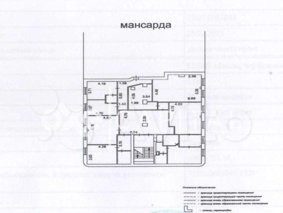 Продажа однокомнатной квартиры Москва, метро Охотный ряд, Брюсов переулок 2/14с4, цена 97700000 рублей, 2021 год объявление №551336 на megabaz.ru