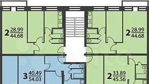 Продажа трёхкомнатной квартиры Москва, метро Кузьминки, Волгоградский проспект 123, цена 9600000 рублей, 2021 год объявление №504167 на megabaz.ru