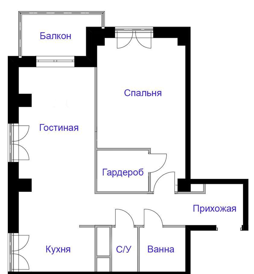 Аренда двухкомнатной квартиры Москва, метро Коньково, Профсоюзная улица 128А, цена 70000 рублей, 2021 год объявление №1282086 на megabaz.ru