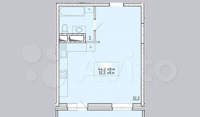 Продажа однокомнатной квартиры деревня Пирогово, цена 3850000 рублей, 2021 год объявление №576666 на megabaz.ru